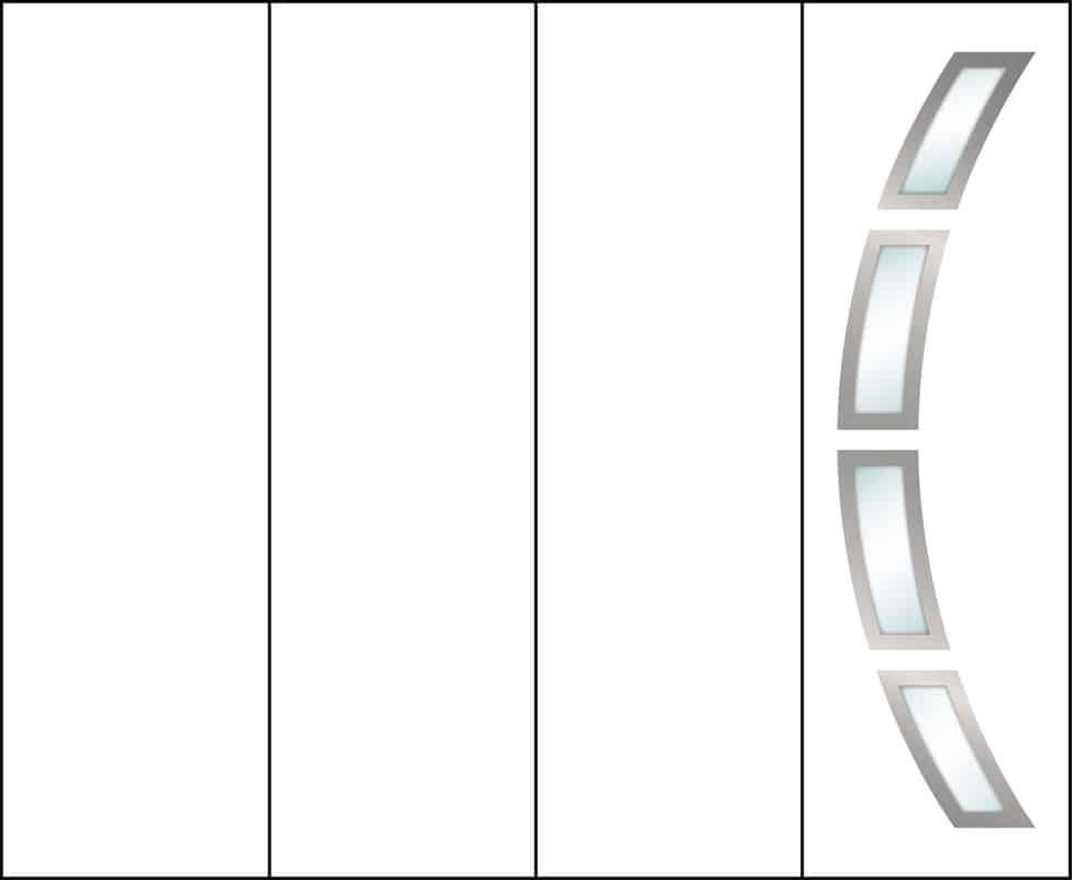 Fame décor arcos vitré