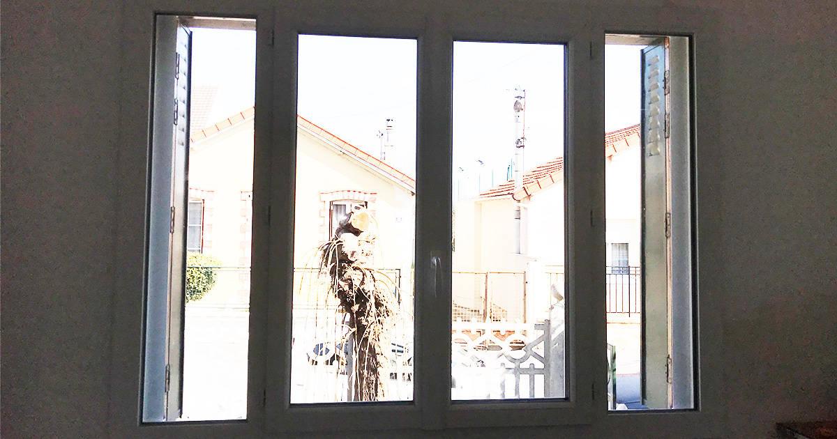 mpo fenêtres drancy fenêtre en pvc blanc ouverture à la française 2
