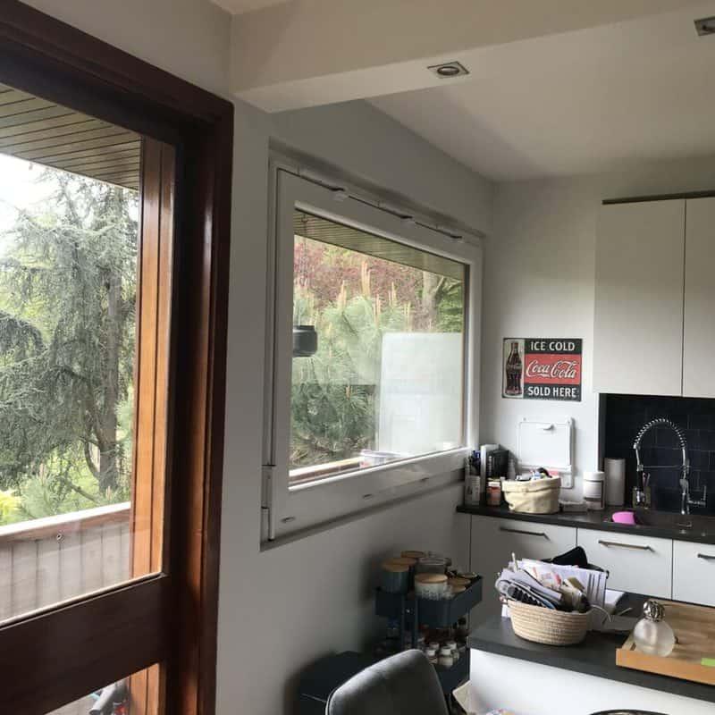 mpo fenêtres fenêtres en pvc, abattant avec tringle rigide