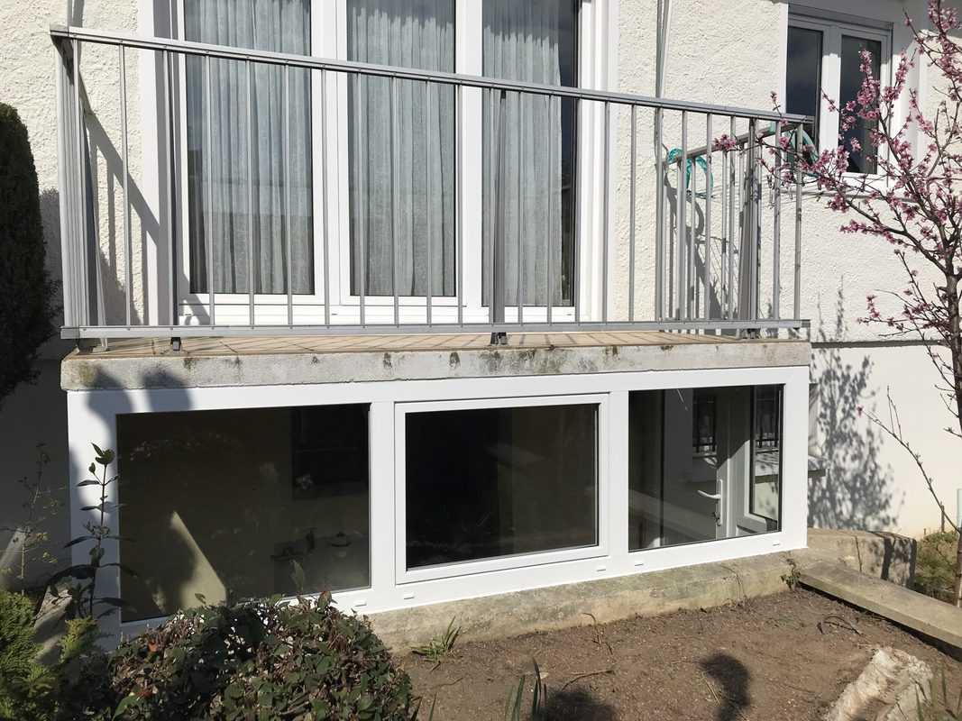 mpo fenêtres notre dame de l'oé fermeture de préau pvc 1