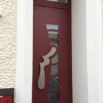 mpo fenêtres porte d'entrée alu rouge