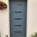 mpo fenetres porte d'entrée alu bleu pigeon 1
