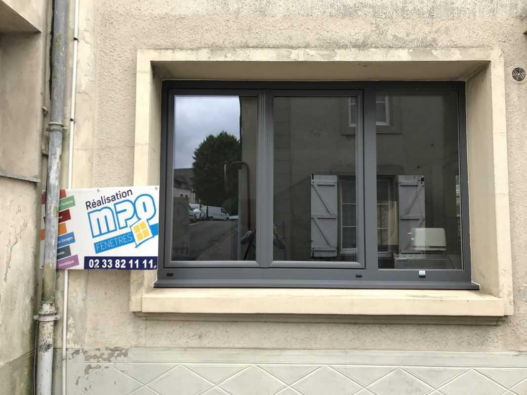fenêtres et fixes en pvc gris anthracite 2