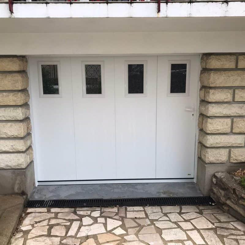 mpo fenetres porte de garage portillon integre