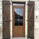 mpo fenêtres porte d'entrée en pvc effet bois 1