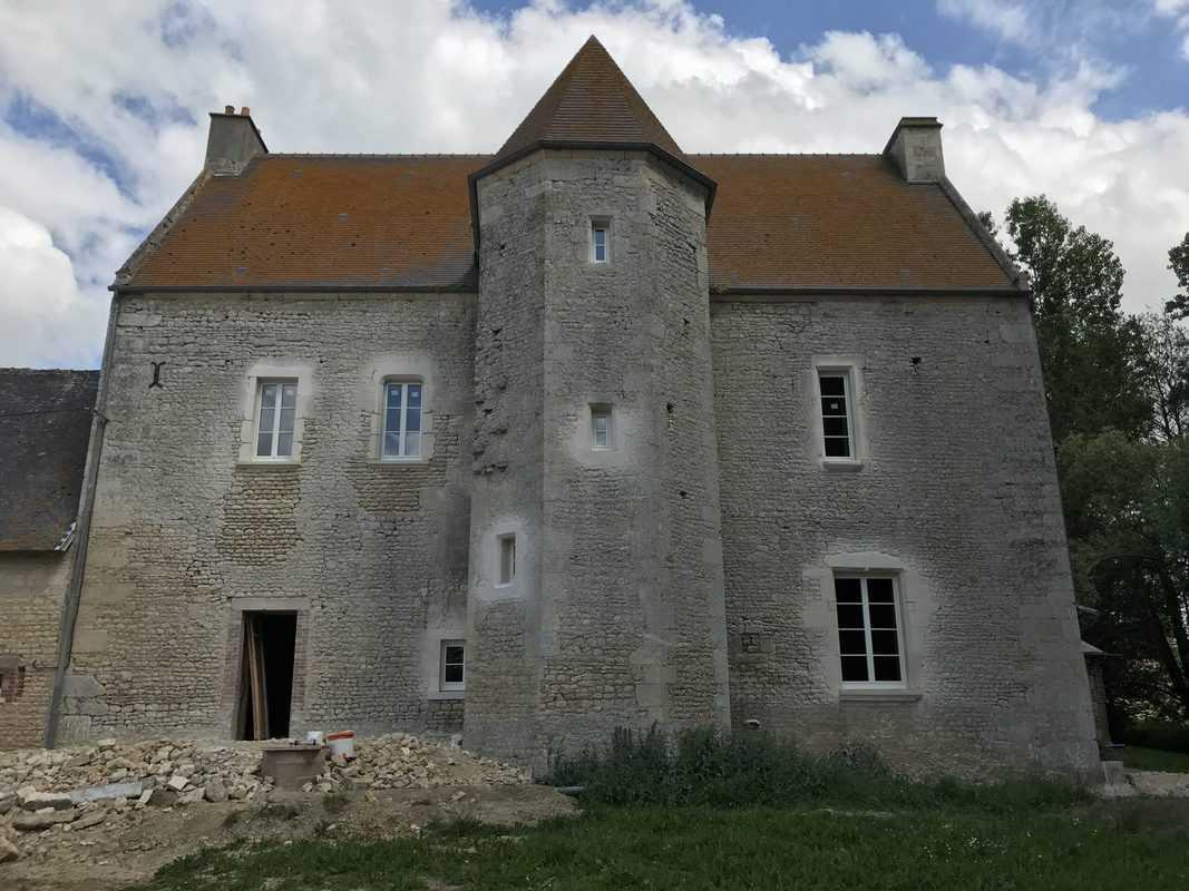 mpo fenêtres rénovation d'un château 1