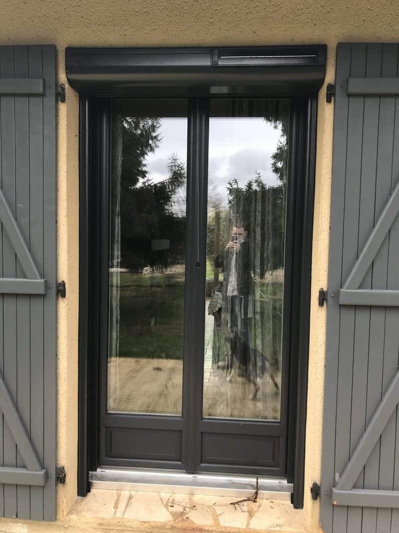 porte d'entrée et fenêtres gris anthracite 3