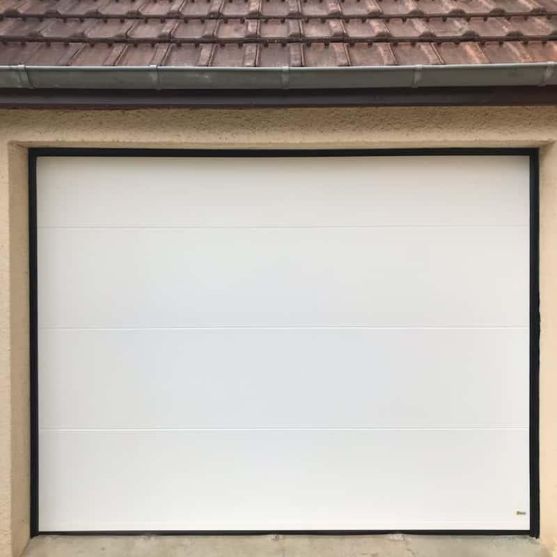 mpo fenêtres et porte de garage blanche
