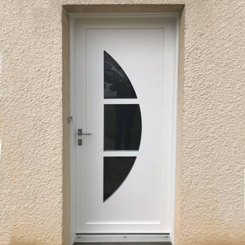mpo fenêtres et porte d'entrée en pvc blanc 2