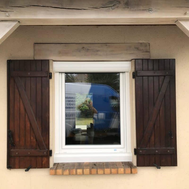 mpo fenêtres fenêtres pvc un vantail