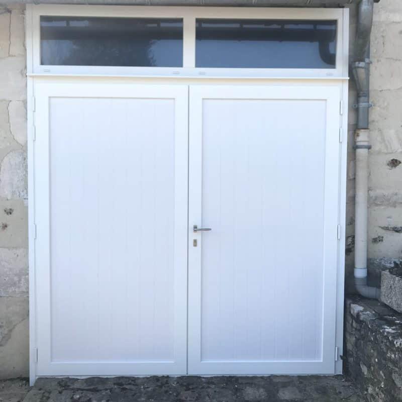 mpo fenêtres porte de garage blanc pvc
