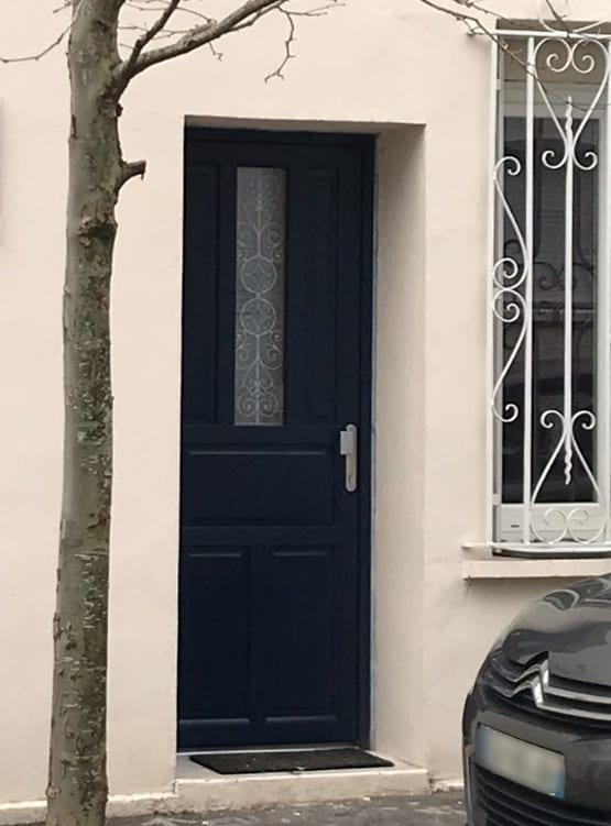 mpo fenêtres porte d'entrée pvc 5 points de fermeture