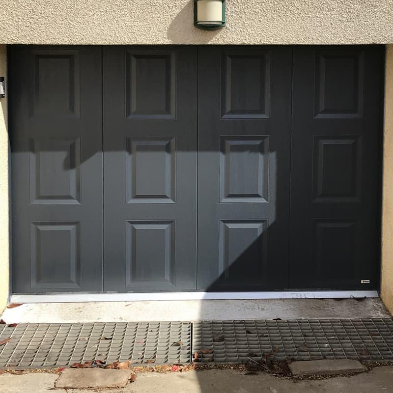 mpo fenêtres porte de garage gris 1