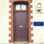mpo fenêtres porte d'entrée avec imposte vitrée pvc 2