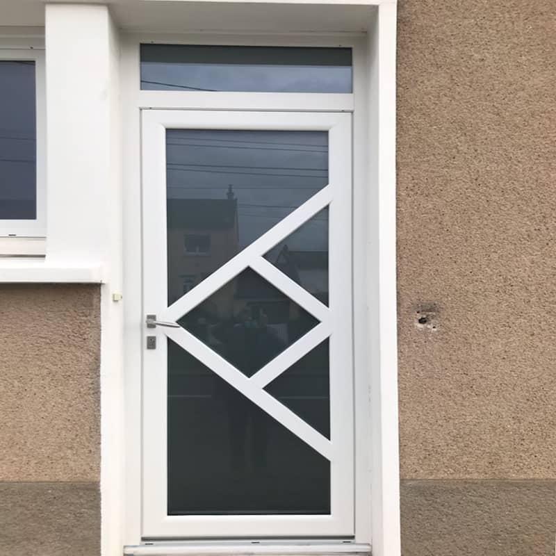 mpo fenêtres porte d'entrée en pvc vitrée