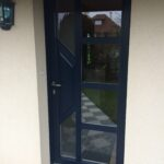 mpo fenêtres porte d'entrée pvc bleu 1