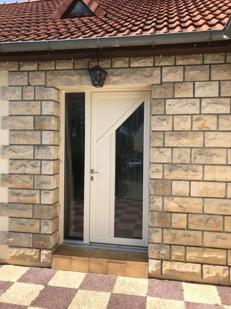 mpo fenêtres porte d'entrée sable pvc