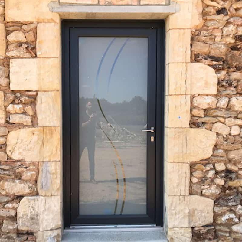 mpo fenêtres porte d'entrée vitrée en pvc sur mesure