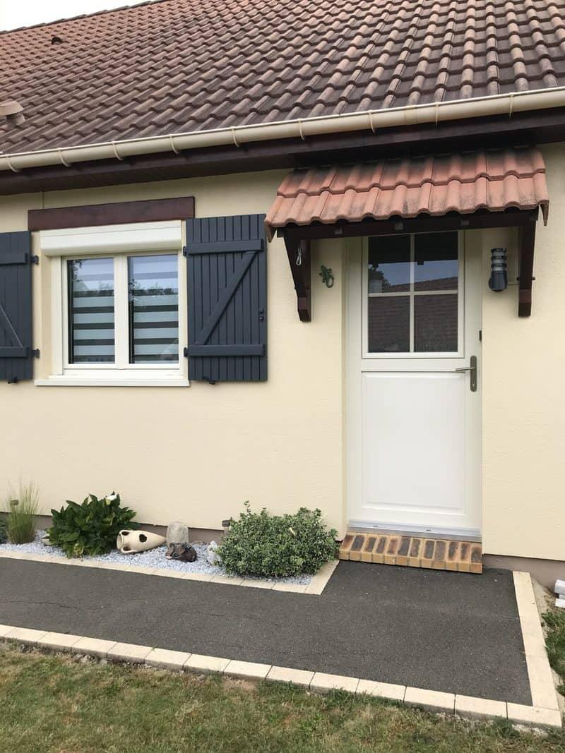 mpo fenêtres fenêtres porte d'entrée et volets pvc blanc 4