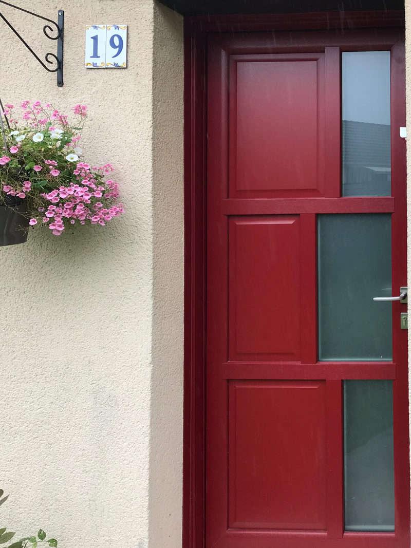 mpo fenêtres menuiseries rouges sur mesure 1