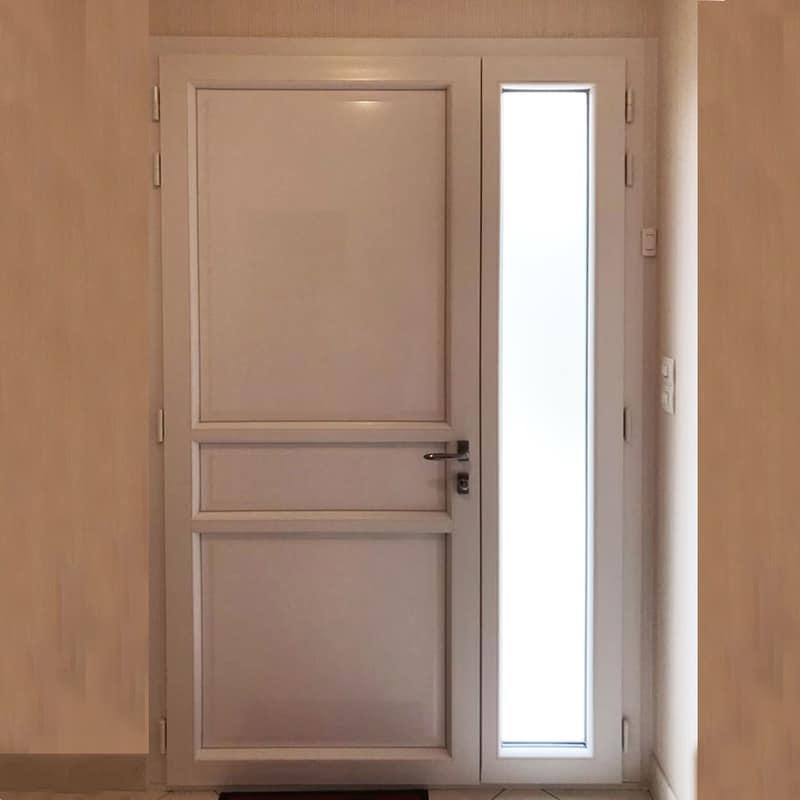 mpo fenêtres porte d'entrée en pvc gris anthracite le mans 2