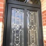 mpo fenêtres porte d'entrée sur mesure en pvc grille décorative